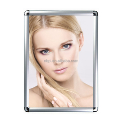 China supplier 25MM aluminum clip poster frame