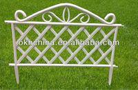 Lattice fence decorations