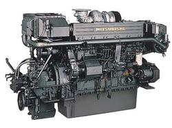MITSUBISHI ENGINE MODEL:S6R2MPTK2