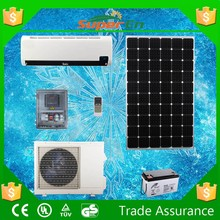 wall mounted solar air conditioner, cooling&heating DC 48V 12000BTU 100% solar air conditioner price