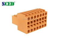 Electronic terminal block Pitch 3.50mm terminal blocks shenzhen