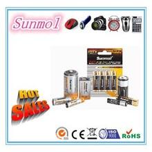 Long Life D/C/AA/AAA/9V Zinc Carbon Battery