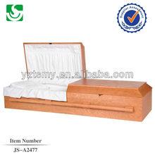 wooden Cherry US style casket