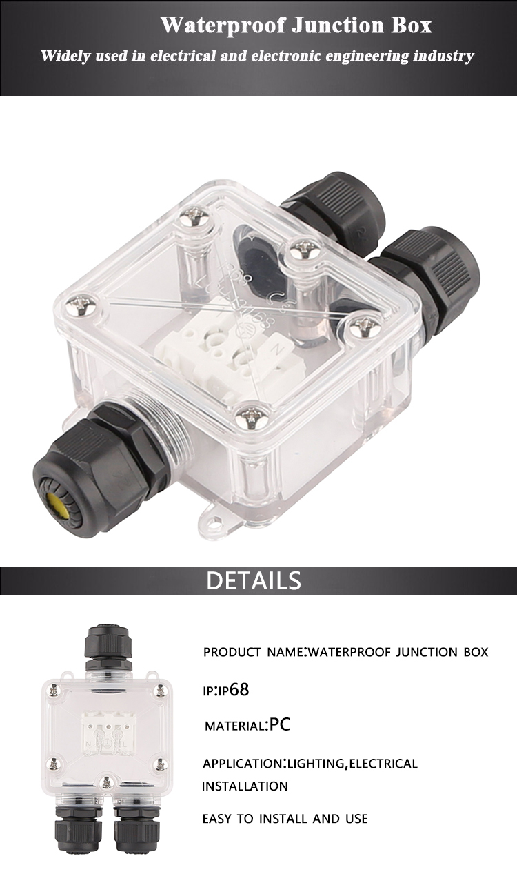 Hot Sale Small Junction Electrical Flexible Conduit Box Connector China Circuit Breaker Chinas Waterproof Underground Ip67 3 Phase Ip68 Price For Swimming Pool Lights