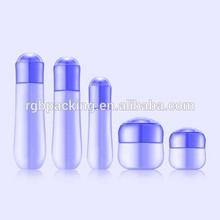 beautiful hot selling wholesale empty glass lotion pump bottle