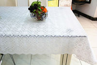 White Pure Tablecloth 137CM*20M