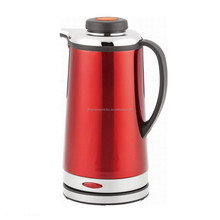 competitive price hot sale red electric travel kettle stainless steel kettle