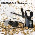 De alta sensibilidad y un rendimiento estable de oro detector de metales hb-5000, la primera opción para la caza del tesoro