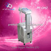 super salon Oxygen Jet Peel Skin Rejuvenation and Wrinkle Removal Equipment