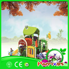 2014 Holiday Promotions outdoor Play Equipment Play Tunnel House With Climber Slide
