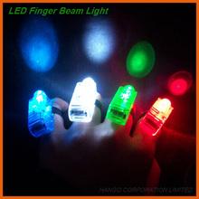 Magic Halloween LED Light Finger Flashing For Carnival