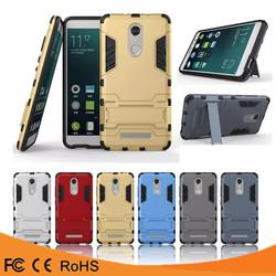 Hot selling hard Armor case pc tpu hybrid kickstand case for xiaomi redmi note 3