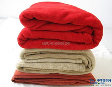 Hot Sale Home Textile Microsoft Coral Fleece Fabric Blankets