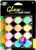 12ct*5ml Glow In The Dark Poster Paint A0261