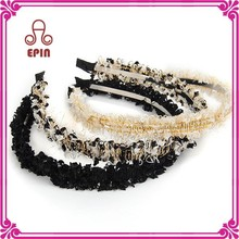Youth and beauty models floral headband for girls
