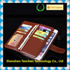 OEM flip pu leather cover case wallet with card slot case for iphone
