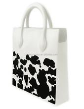 New Vintage Silicone casual tote women shoulder bag female bag