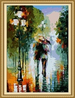 40*50cm tree painting, night scenery oil painting canvas paintings