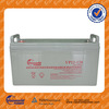 sealed lead acid portable rechargeable 12v 120ah solar panel battery for solar for europe market