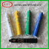 Children use non-toxic neutral wax material face paint pen