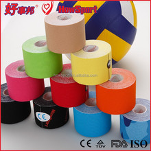 3.8cmx13.7m ISO/CE/FDA Popular Updated Medical Waterproof Zinc Oxide Tape Colored