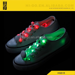 2015 good quality novelty wholesale led flashing custom shoelaces