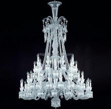 Bid wedding crystal baccarat led chandelier