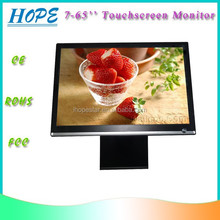 USB TFT LCD SAW IR Capacitive Resistive Touch 32 Inch Touch Monitor