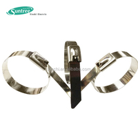 Stainless Steel Banding Strap Naked Stainless Steel Cable Tie