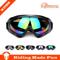 High Quality Motorcross Racing Goggles Lens Anti UV for Off Road Competition With OEM Service