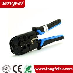 Insulated terminal crimp pliers rj45