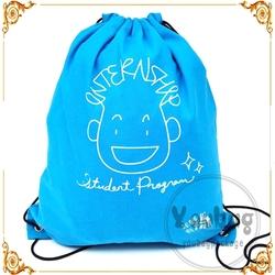 New Design Non Woven Rope Small Drawstring Bag