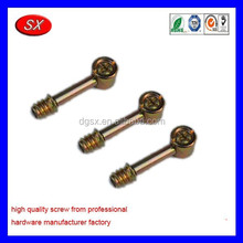 customized screwed connection galvanized steel bolt and nut furniture connecting screws