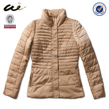 jacket snap button side pockets down jackets for women