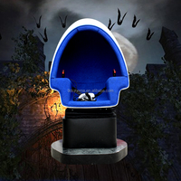 Guangzhou Cinema Supplier 5d 7d 8d Cinema Factory 9D VR Cinema with Interactive game one seat on sale