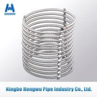 stainless steel flexible pipe heat exchanger water tank