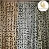 luxury european style window curtain flocked curtains