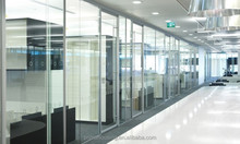 New acrylic movable glass of partition wall for art gallery