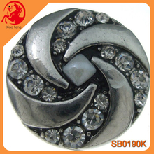 Alloy Snap Press Button Crystal Jewelry,Snap Press Button Jewelry,Snap Press Button