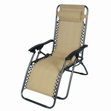Hot sale adjustable folding recliner zero gravity chair outdoor for Sleeping and Sitting