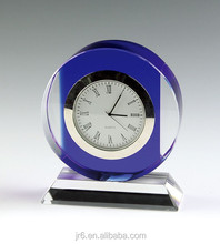 Fashion Crystal Clock,Glass Clock For indian wedding return gift