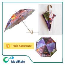 popular straight automatic christmas umbrella