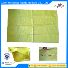 60*90cm 60*105cm polypropylene yellow bag for packing corn wheat exported to Dubai