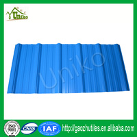water proof light bule anti uv 3 layer corosion resistant pvc roof tile for wholesales