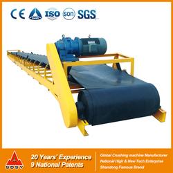 Material handling belt conveyor equipment,material transfer belt conveyor in conveyor