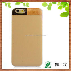 wholesale Christmas gift knit pattern mobile phone leather case for iphone 6s,wood leather case for iphone 6s