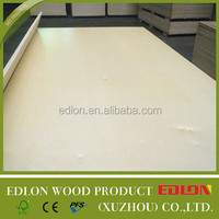 High density white plywood board two times press combine core
