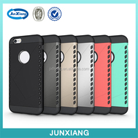 New Armor Back Cover Phone Case Shockproof Armor TPU + PC Mobile Phones Combo Cases For Iphone 6 Case