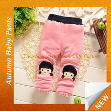 Kids lovely cartoon baby pants tight kids leggings cotton tight kids color winter girls underwear LYD-161