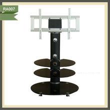 Revolving motorised supports for tv 360 degrees swivel tv wall mount